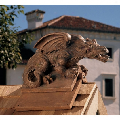 Apex, The Winged Dragon Sculptural Roof Cresting