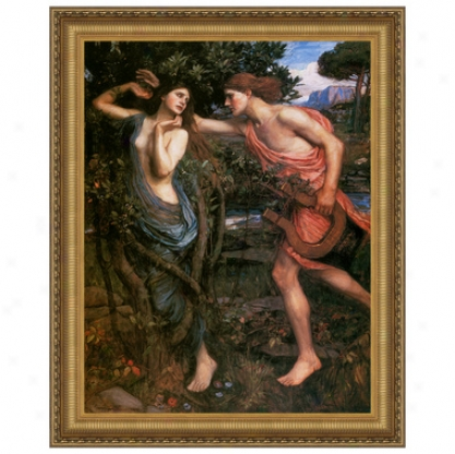 Apollo And Daphne, 1908: Canvas Replica Painting: Small