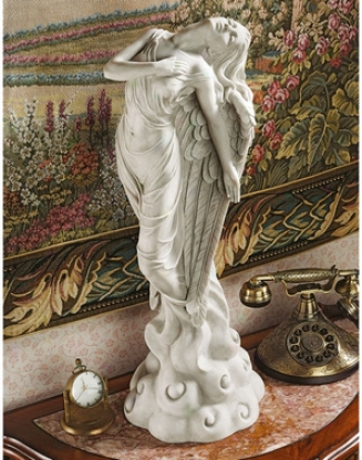 Ascending Angel Sculpture: Medium