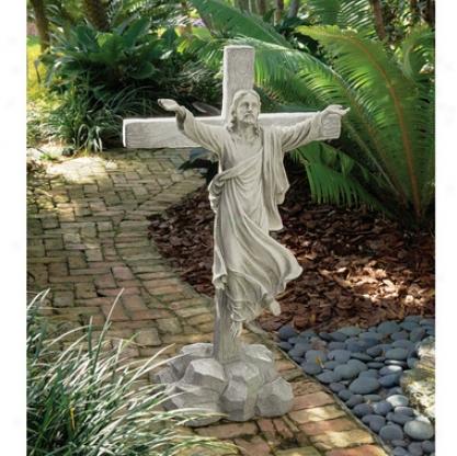 Ascension: Grande Scale Christ Sculpture