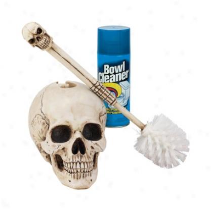 Bathroom Skullduggery Toilet Goblet Brush