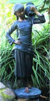 Becky's Pouring Urn Dense Harden Garden Sculpture