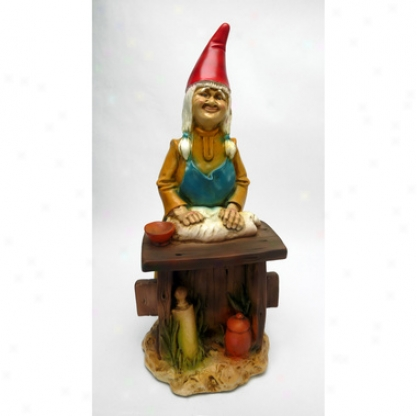 Berth, The Bread Baker Gnome Statue