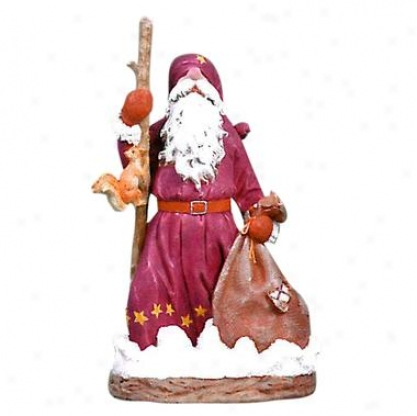 Black Forest Elf Garden Gnome Statue