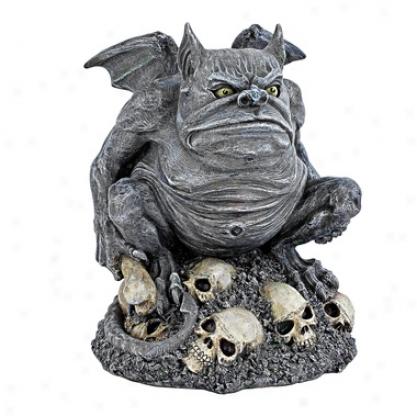Bone Chiller The Troll Gargoyle Statue