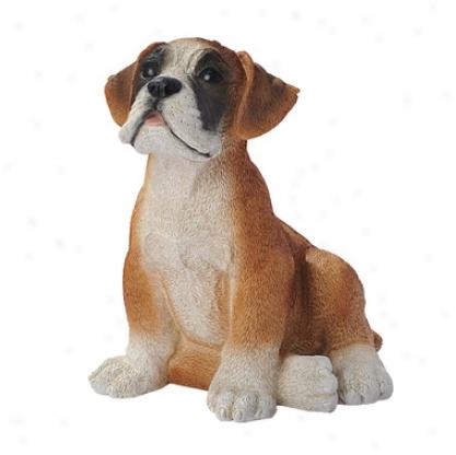 Boxer Fop Dog Statue