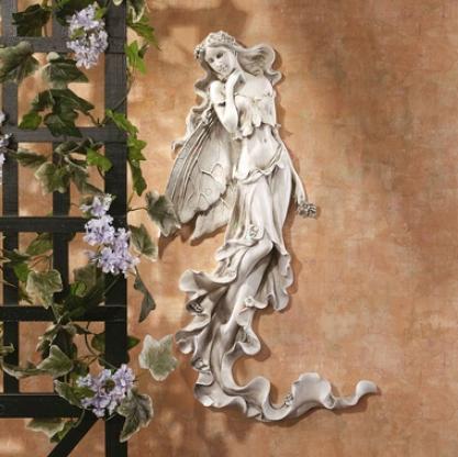 Brianna The Summer Breeze Fairy Wall Sculpture