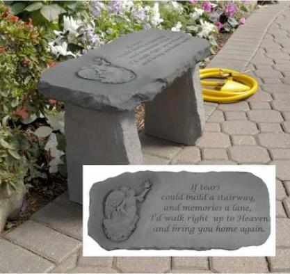 Bring You Home Memorial Garden Bench