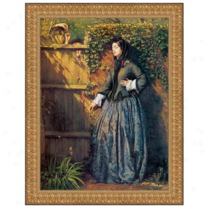 Broken Vows 1856: Canvas Replica Painting: Small