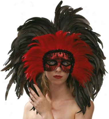 Carnivale Di Venezia Feathered Mask Collection: Carnivale
