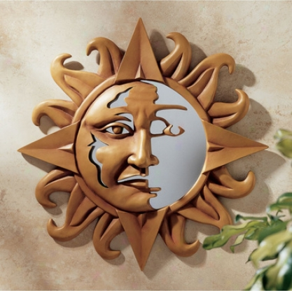 Celestial Expression Sun Wall Sculpture