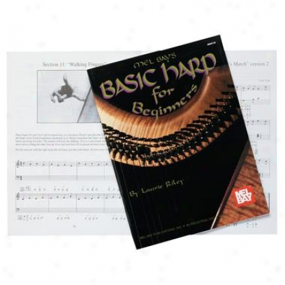 Celtic Rksewood Harp Beginners Book