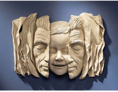 Child At Heart Wall Sculpture