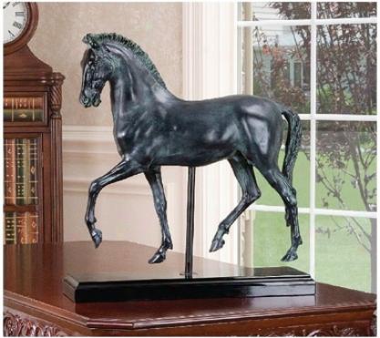 Classical Horse Study Sculpture