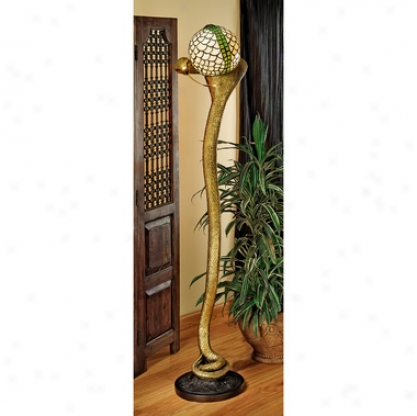 Cobfa God Wadjet Sculptural Floor Lamp