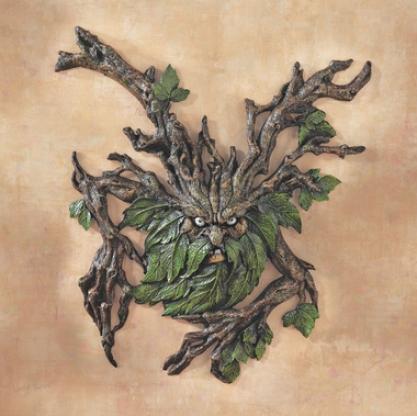 Crotchety Crannk Tree Ent Wall Sculpture