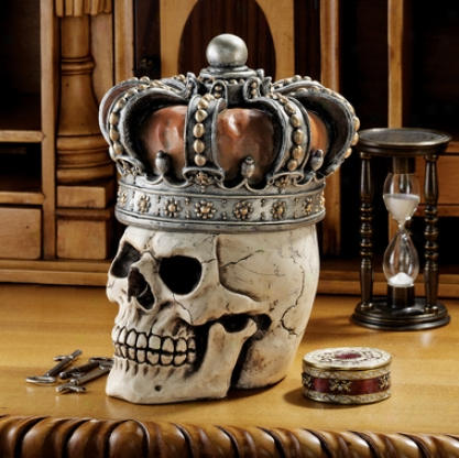 Crowned Skull North-European Relic Box