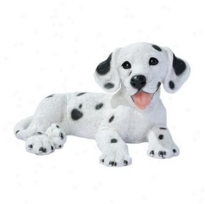 Dalmation Puppy Dog Statue
