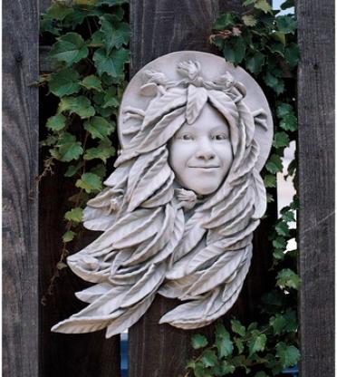 Daphne: Greenwoman Wall Sculpture