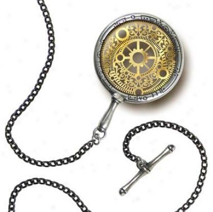 D'duke's Polarising Steampunk Eye Monocle By Alchemy Jewelry