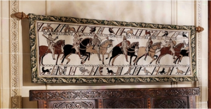 Duke William's Battle Cry: Bayeux Tapestry