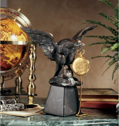 Eagle's Treasure Sculptural Pockef Watch Display