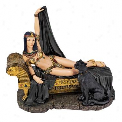 Egyptian Harem Consort Statue