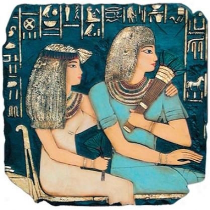 Egyptian King Ramses Walll Sculpture