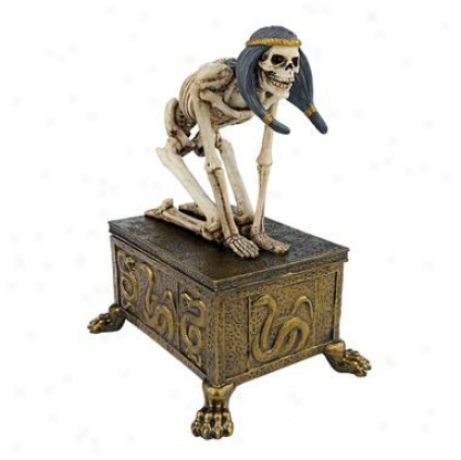 Egyptian Skeleton Sentry: Guard Of The Temple Box