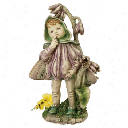 Ella, The Littlest Flower Fairy Statue