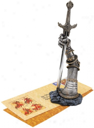 Excalibur Sculptural Opener/desk Accessory