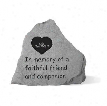 Exact Friend Personalized Cast Stone Pet Memorial Statue