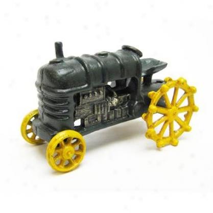 Farmstead Replica Cast Iron Farm Toy Tractor