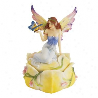 Flower Fairy Ttinket Treasure Box