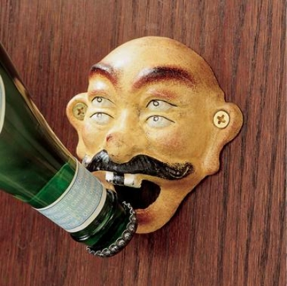 Four Eyed Drunken Seaman Bottle Opener