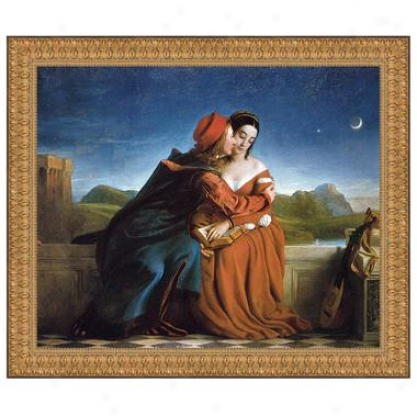Francesca Da Rimini, 1837: Canvas Replica Painting: Small