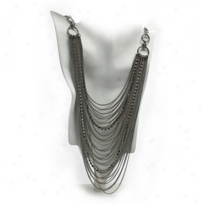 Gaia Necklace And Earrings Ensemble