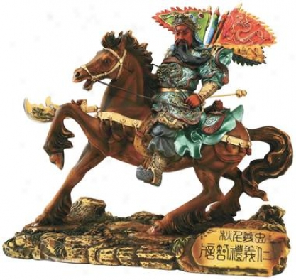 General Guan Yu Sculpture