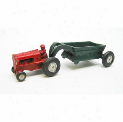Gentleman Farmer Replica Cast Iron Farm Toy Tractor