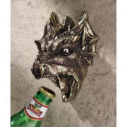 Gothic Dragon Bottle Opwner