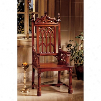 Gothic Tracery Cathedral Chair Garden Decor catalog