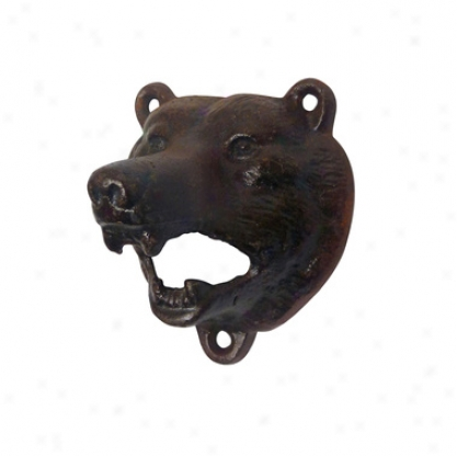 Grizzly Bear Of The Woods Assign Iron Bottle Opener