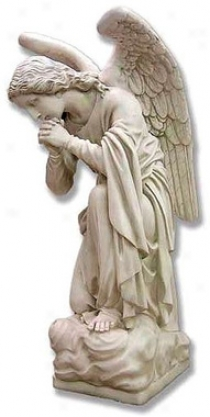 Intercession Angel: Praylng Hands Religious Statue