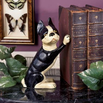 rIon Terrier Doorstop/bookend
