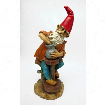 Klauss, The Potter Gnome Statue