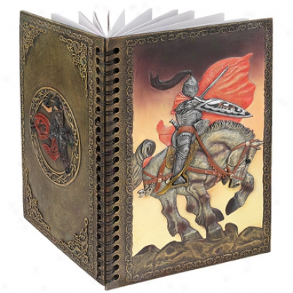 Knight's Valisnt Battle Hardcover Journal
