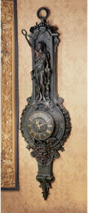 La Liberte Grande Palace Sculptural Wall Clock