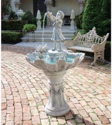 L'acqua Di Vita Sculptural Fountain