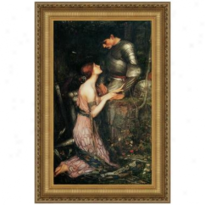 Lamia, 1905, Canvas Replica Painting: Small