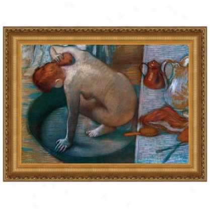 Le Tub, 1886, Canvas Replica Painting: Small